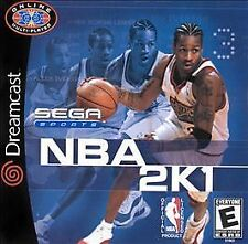 NBA 2K1 (Sega Dreamcast, 2000) GAME BRAND NEW & FACTORY SEALED!!!