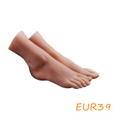 Female Silicone Feet Display Model Lifelike Legs Mannequin One Pair Us Stock