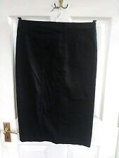 GEORGE WOMENS FORMAL BLACK SKIRT SIZE 12 LENGTH 28 INCHES