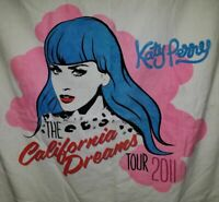 """Katy Perry California Dreams Tour 2011 Towel 58"""" x 38"""" Nice! NEW Without Tags"""