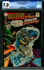 """DETECTIVE COMICS #373 CGC 7.0 FN/VF First Time Referred to as """"Mr. Freeze!"""""""