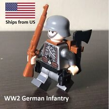 GERMANY WORLD WAR 2 INFANTRY Lego MINIFIGURE ARMY MILITARY SOLDIER