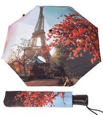 Compact Umbrella Automatic Open Close Windproof Sun & UV Protection - Women's