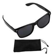 Retro Vintage Cool Black Frame Sunglasses Driving Sun Glasses Unisex Black