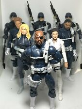 Marvel Legends NICK FURY SHIELD AGENT Sharon Carter Maria Hill Agents 3 Pack