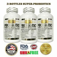 3X Ultra Probiotic 50-100 Billion Now Whole Research Ultimate Flora Made in USA