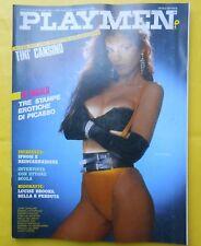 playmen 1984 tinì cansino louise brooks herbert w. hesselmann italian magazines