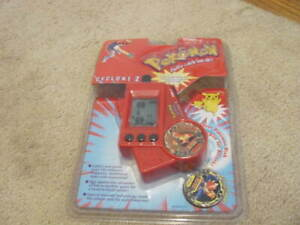 Vintage Pokemon Cyclone 2 Electronic Hand Held Game Tiger 1999 Brand New Sealed