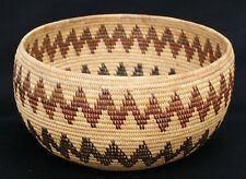 California Washoe Polychrome Bowl Basket