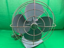 VTG GE GENERAL ELECTRIC OSCILLATING FAN METAL TESTED IN WORKING CONDITION EUC