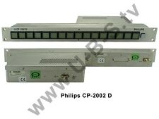 Philips CP-2002 D - Control Panel