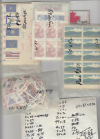 USA POSTAGE assorted values counted. Face Value $70.00 Your price $50
