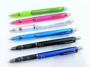 6 Barrel Colors set Zebra P-MA85 DelGuard System Mechanical Pencil 0.5mm