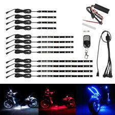 72LED Motorcycle H.D LED Neon Under Glow Lights Strip Kit For Harley Davidson