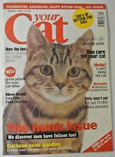 Your Cat Magazine. October 2004. Kitty won't eat. Skin care for your cat.