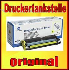 original Toner Konica Minolta Magicolor 2300 2350 OEM: 1710517-006 yellow OVP
