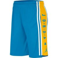 Nike Air Jordan HBR Men's Basketball Shorts Size Medium M (BQ8392-482) Blue