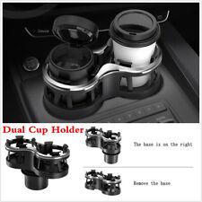 Universal Car Seat Dual Cup Holder Drink Beverage Coffee Bottle Mount Organizer