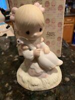 Precious Moments God is Love E-5213 Porcelain Figurine