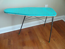 Vintage Metal Toy Sky Blue Ironing Board - Made in USA