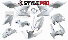 accessoire de déguisement Kit 12 parties carénage blanc yamaha aerox mbk nitro