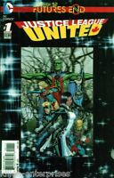 Justice League United Future's End #1 One-Shot 3D Cover Comic Book 2014 New 52 -