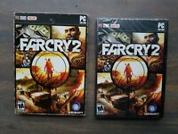 New & Factory Sealed FAR CRY 2 PC DVD-ROM UBISOFT - PC DVD ONLINE FARCRY2 (D2-2)