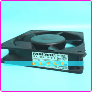 1PC FLOWMAX 4710PS-12T-B10 12CM AC115V 11.5/9W Industrial Control Equipment fan