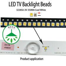 200pcs/lot led 3228 3v 350ma cool white for repair samsung led tv lcd backlight