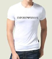 NEW White Emporio Armani Designer tight fit muscle T-shirt sz M..L..XL