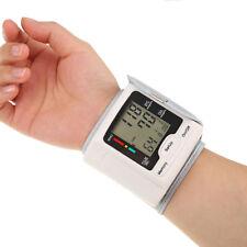 Automatic Digital Wrist Blood Pressure Monitor Cuff BP Machine Home Medical Care