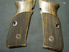 CZ 75 SP-01 Tactical ONLY Fine English Walnut Checkered Pistol Grips w/logo NEW