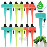 12x Automatic Plant Waterer Self Watering Spikes Devices w/ Slow Release Control
