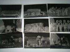 Original  Circus Negatives lot of  24+.....   1950