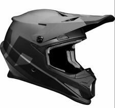 Thor Sector Level Black Charcoal Motocross MX Race Helmet Adults Small 55-56cm