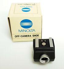 MINOLTA off-Camera Shoe