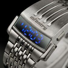 INFANTRY Herren LED Digitaluhr Armbanduhr Uhr Herrenuhr Datum Leuchtend Mode