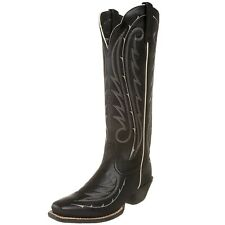 ARIAT LEGEND BRAMBLE Cowboy Womens Tall Leather Western Rodeo Boots BLACK 6.5