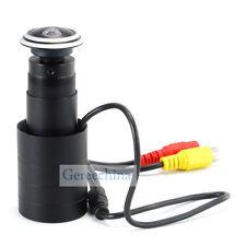 HD CCD 700TVL Fish Eye Lens Door Camera Security Wide Angle Pinphole Spy camera