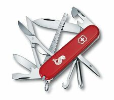 VICTORINOX FISHERMAN RED 1.4733.72 KNIVES SWISS ARMY NEW 18 FUNCTION 91MM