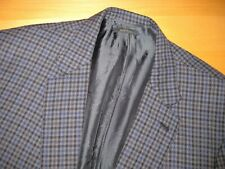 CURRENT BRIONI Blue Gray Collesseo Gun Club Check Sport Coat Jacket 50 ~ 48 49