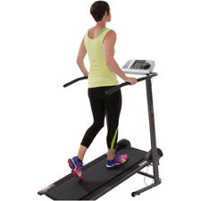 Manual Treadmill Home Fitness Exercise Machine Pacer Control Heart Rate System
