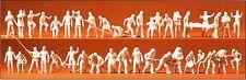 feuerwehmänner 42 Figurines non-peintes Preiser 16329 SPUR HO (16,5 mm)