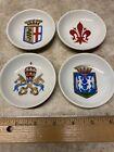 Vintage Miniature Italian Souvenir Plates Set Of 4