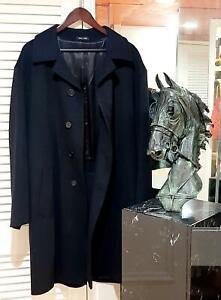Beautiful Men's Loro Piana Storm System Cashmere Overcoat 50 R US. Retail $5,350