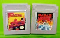 Super Battletank + Radar Mission -  Nintendo Game Boy Color GBC GB SP Advance