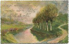 1921 Catania - Sant' Alfio, Dipinto acquarello della campagna - FP COL