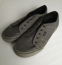 Van's Men's Gray Comfort Sneakers Athletic Shoes Sz. 9 (Laces NOT Included)