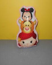 "Tara Toys Tsum Tsum 10"" Pink Disney Stuffed Plush Ariel - Minnie Mouse & Tigger"