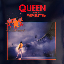 Queen ‎– Live At Wembley '86 2 LP GATERFORD + INNER SLAVE